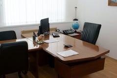 La oficina del director Imagen de archivo libre de regalías