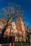 La oficina del mariscal en Szczecin Fotografía de archivo libre de regalías