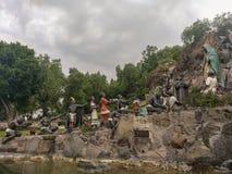La Ofrenda av Aurelio Mendoza Tepeyac trädgård, Mexico - stad Royaltyfri Bild