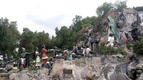 La Ofrenda Gevestigd bij Tepeyac-Tuin, Villa Gustavo Madero stock video