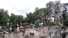 La Ofrenda Localizado no jardim de Tepeyac, casa de campo Gustavo Madero video estoque