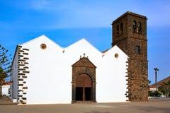 La Oliva church Fuerteventura at Canary Islands Stock Image