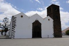 La oliva de fuerteventura d'église Photos libres de droits