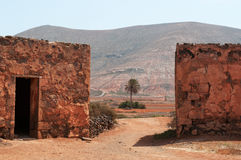 La Oliva, Fuerteventura, Canarische Eilanden, Spanje Royalty-vrije Stock Afbeelding