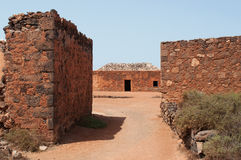 La Oliva, Fuerteventura, Canarische Eilanden, Spanje Royalty-vrije Stock Fotografie