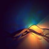 La onda Foto de archivo libre de regalías