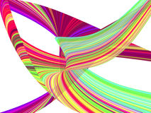 La onda colorida raya el fondo Imágenes de archivo libres de regalías
