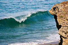 La onda perfecta Fotografía de archivo libre de regalías