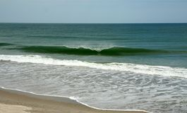 La onda perfecta Imagen de archivo libre de regalías