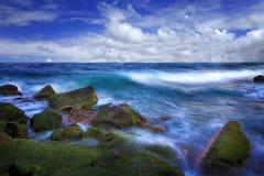 La onda suave Foto de archivo