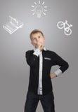 La opción del muchacho Fotos de archivo libres de regalías
