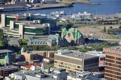 Gare du Palais, terminal del transporte de la ciudad de Quebec, Canadá Foto de archivo libre de regalías
