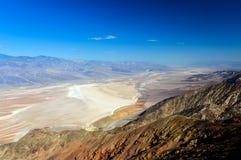 La opinión de Dante, Death Valley foto de archivo