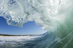 La opinión de las personas que practica surf Fotografía de archivo libre de regalías