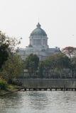 La opinión de Pasillo del trono de Ananta Samakom del parque zoológico de Dusit - Bangkok , Tailandia Fotos de archivo