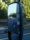 La opinión del camionero Fotos de archivo libres de regalías