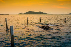 Opinión del mar Foto de archivo