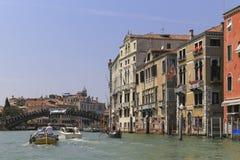 La opinión del paisaje de Venecia, Italia Imagen de archivo