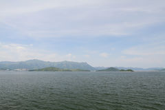 la opinión del puerto de Tolo del hkstp Imagenes de archivo