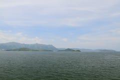 la opinión del puerto de Tolo del hkstp Imagen de archivo libre de regalías