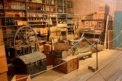 La opinión interior Brennan y Geraghty almacenan el museo en Maryborough Foto de archivo