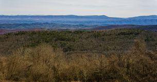 La opinión Ridge Mountains azul de Dan Ingalls Overlook fotos de archivo libres de regalías