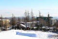 La opinión sobre el alto país de Tatra Imagen de archivo libre de regalías