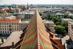 La opinión sobre el tejado Fotografía de archivo libre de regalías