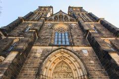 La opinión sobre la catedral del St el Vit Fotografía de archivo libre de regalías
