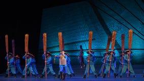 """La orden del sueño del """"The del drama de la encomio-danza del  de seda marítimo de Road†Fotos de archivo"""