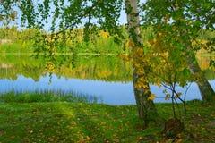 La orilla del lago - 3 fotografía de archivo