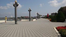 La orilla del mar en Anapa