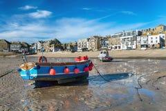 La orilla del mar en St Ives fotos de archivo libres de regalías