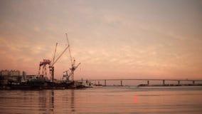 La orilla en Busán imagenes de archivo