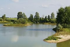 La orilla meridional del lago -2 imágenes de archivo libres de regalías