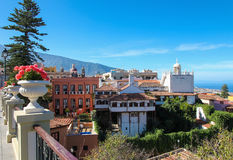 La Orotava en Tenerife fotografía de archivo libre de regalías
