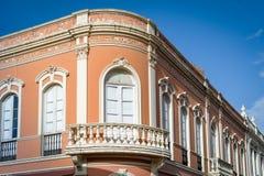 La Orotava historisk slottfasad Royaltyfria Foton