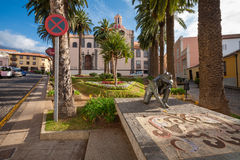 La Orotava. Tenerife, Canary Islands, Spain Royalty Free Stock Images