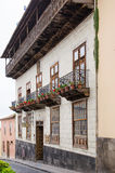 LA OROTAVA, TENERIFE, SPAIN - APRIL 03, 2016: The Casa de los Ba Royalty Free Stock Photography
