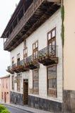 LA OROTAVA TENERIFE, SPANIEN - APRIL 03, 2016: Casaen de los Lodis Royaltyfri Fotografi