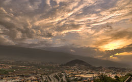 La Orotava valley Royalty Free Stock Photos