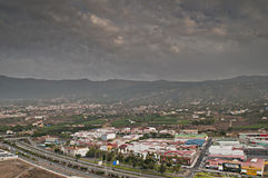 La Orotava valley Stock Photo