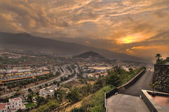 La Orotava valley Royalty Free Stock Image