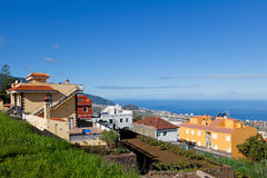 La Orotava View, Tenerife Royalty Free Stock Photos