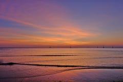La oscuridad de la isla de Lanta Foto de archivo libre de regalías