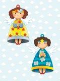La página del colorante con el modelo - ejemplo para los niños Imagen de archivo