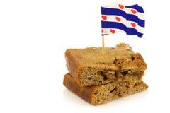 La pâtisserie traditionnelle de Frisian a appelé Kandijkoek   photos libres de droits