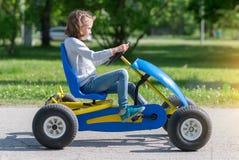 La pédale vont-karting photos libres de droits