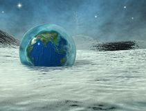 La période glaciaire 2 illustration stock