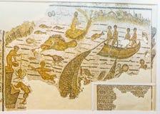 La pêche antique image libre de droits